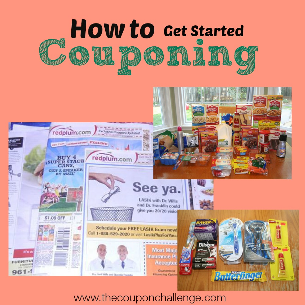 Get Started Couponing
