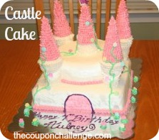 Castle-Birthday-Cake