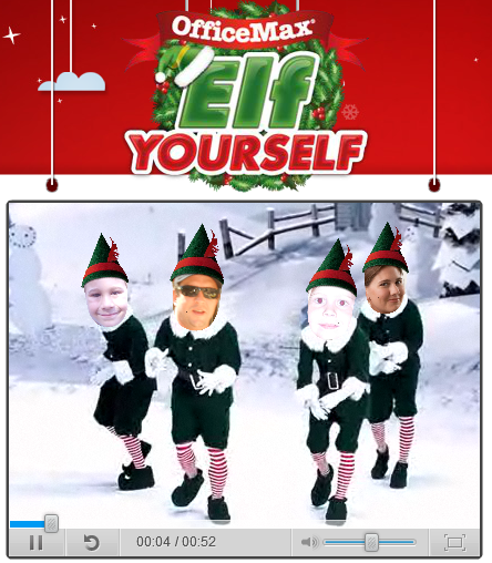 Elf yourself by office max the coupon challenge - Office max elf yourself free download ...