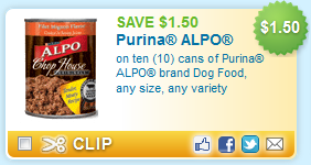 Alpo Canned Dog Food Coupons