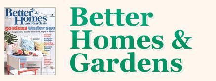Better Homes Gardens Magazine Promo