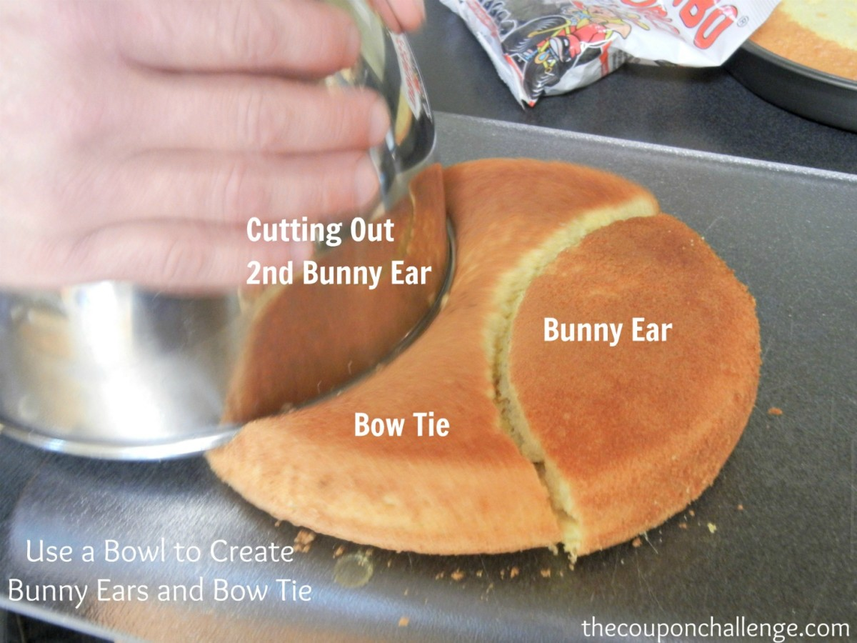 How Make A Bunny Cake