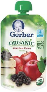 Gerber Organic Baby Pouches