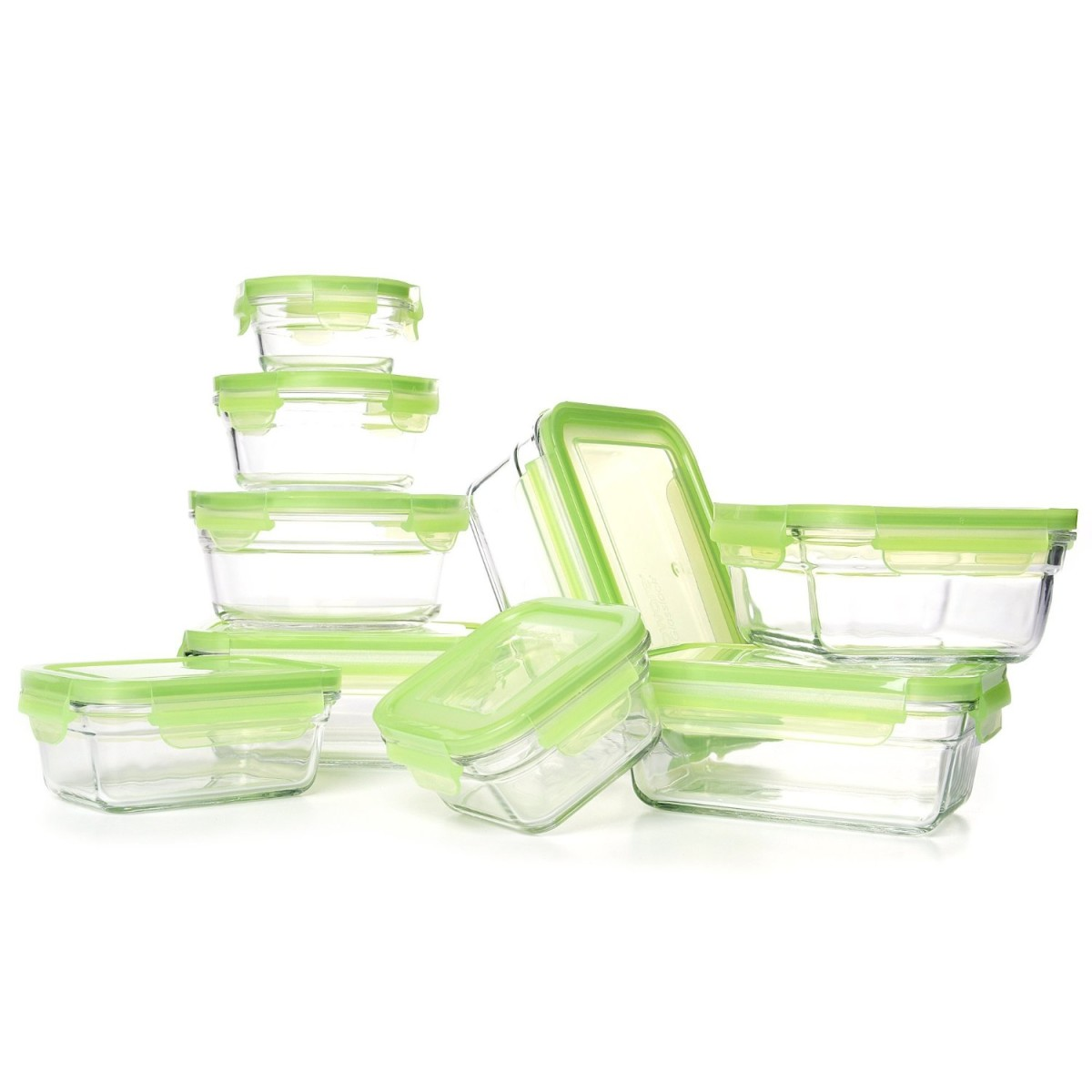 Amazon Gold Box Deal 07 26 Glasslock Snapware Tempered Glass Food Storage Containers With