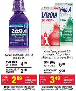 CVS will have 2 great freebies through Sunday  09 01  if you get the    Zzzquil Magazine Ad
