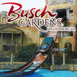 Busch Gardens Williamsburg and Water Country USA 4850 The