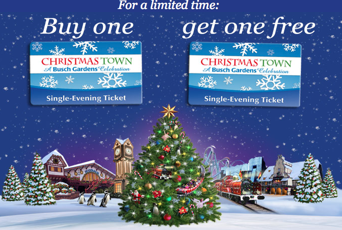 Busch Garden 39 S Christmas Town Twitter Promotion 2012 Not Occuring