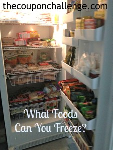 What Foods Can You Freeze