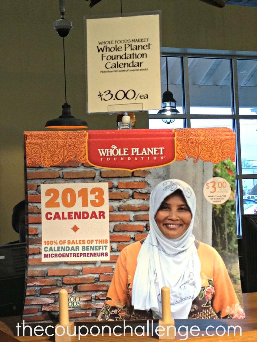 Whole Foods Calendar 2013