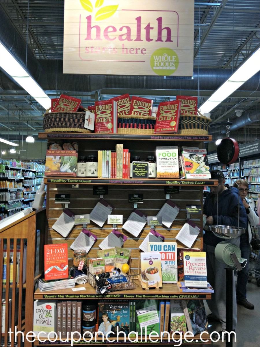 Whole Foods Health Starts Here Display