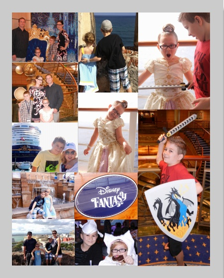 Disney Fantasy Collage