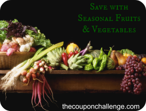 Seasonal Fruits & Vegetables