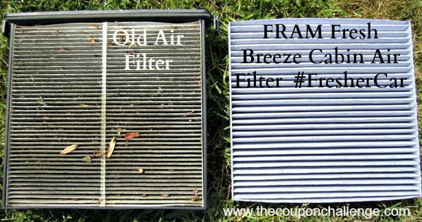 Side By Side Comparison of Old and New Filters