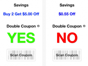 double coupon