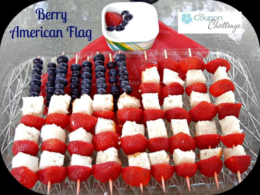 Berry Flag | www.thecouponchallenge.com