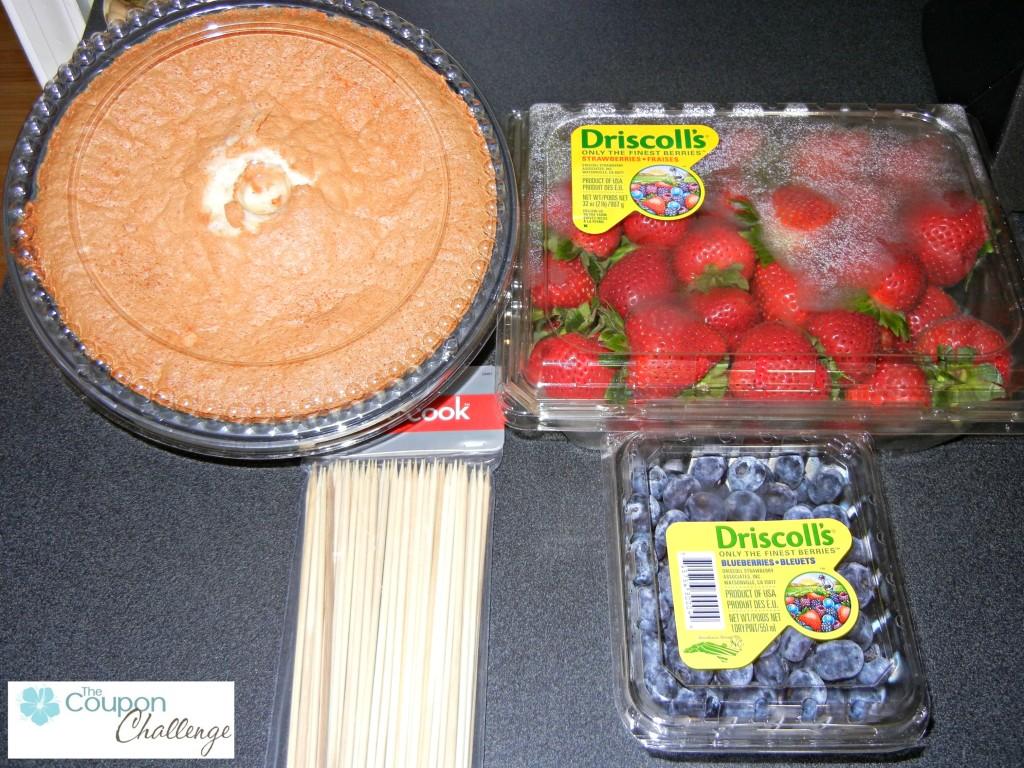 Berry Flag Ingrediants