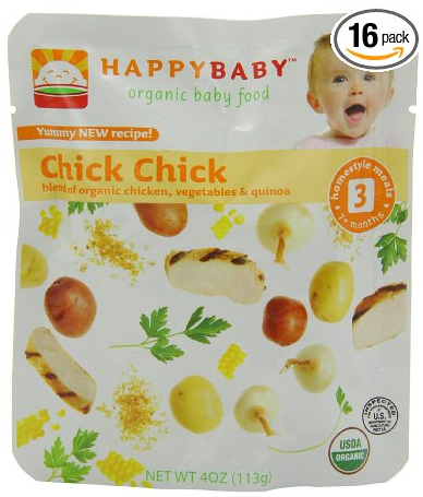 Amazon Happy Baby Organic Baby Food 3 Homestyle Meals 101 Per