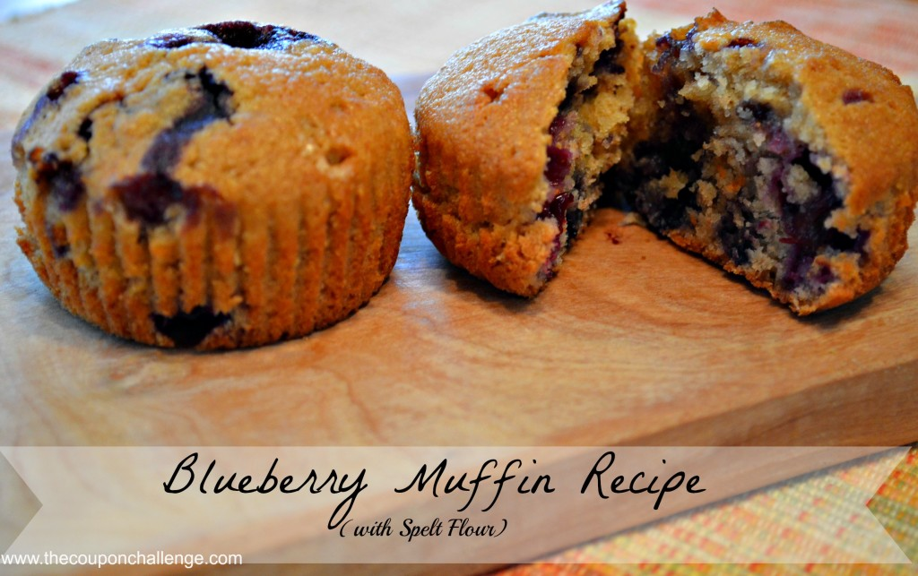 Blueberry Spelt Muffin Recipe