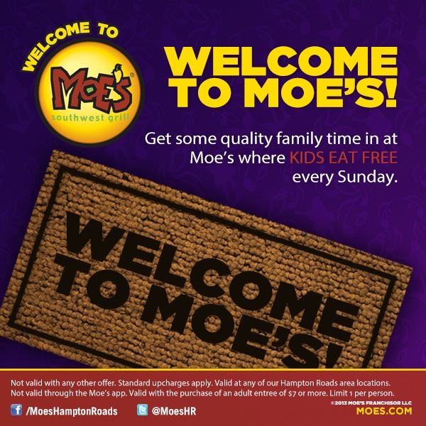 moes kids eat free