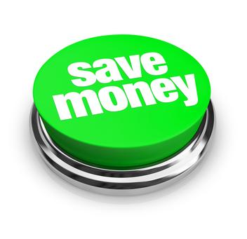 Save Money - Green Button