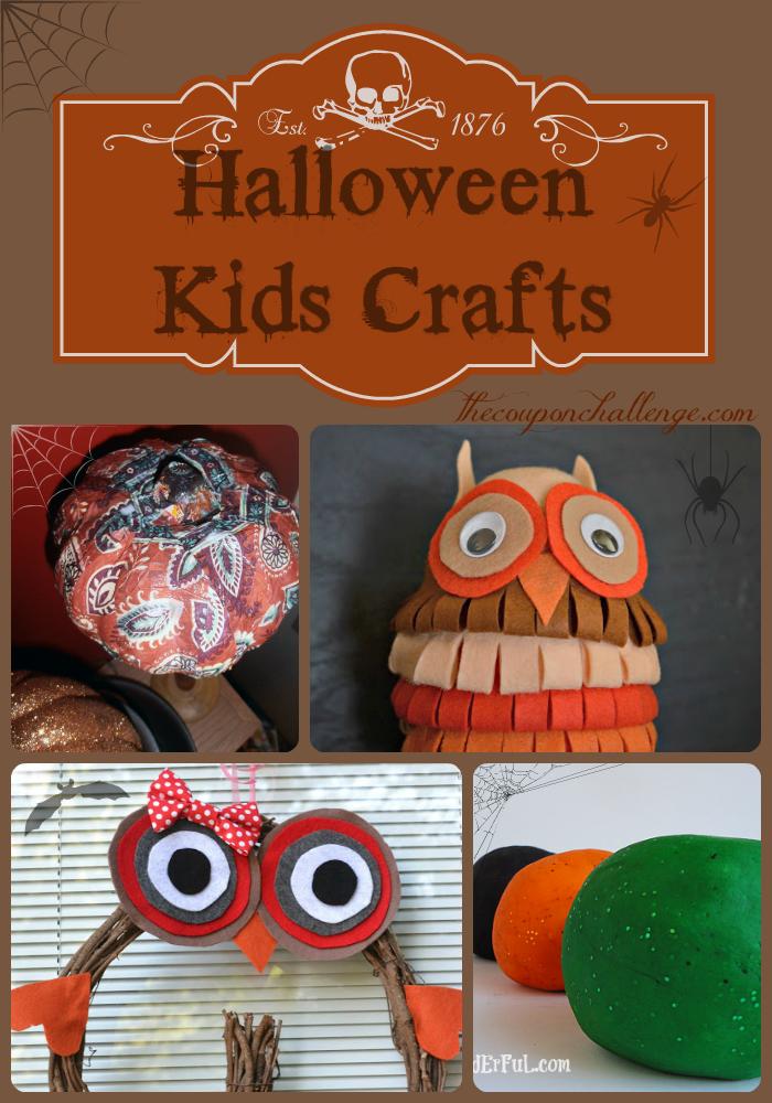 Childrens Halloween Crafts