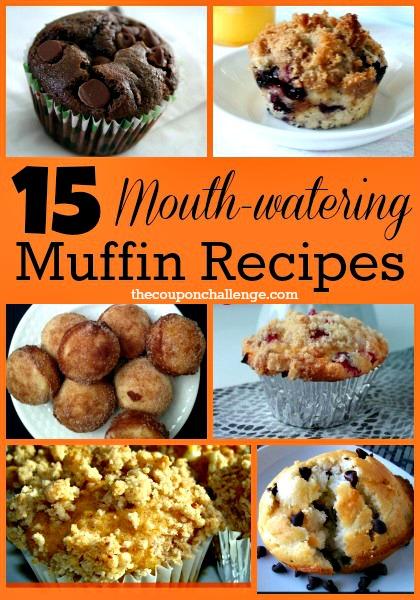 15 muffind recipes