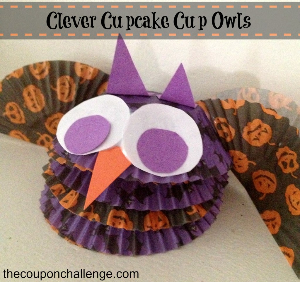 Clever Cupcake Cup Owls