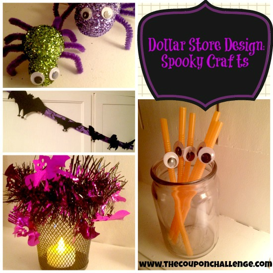 Dollar Store Spooky Crafts