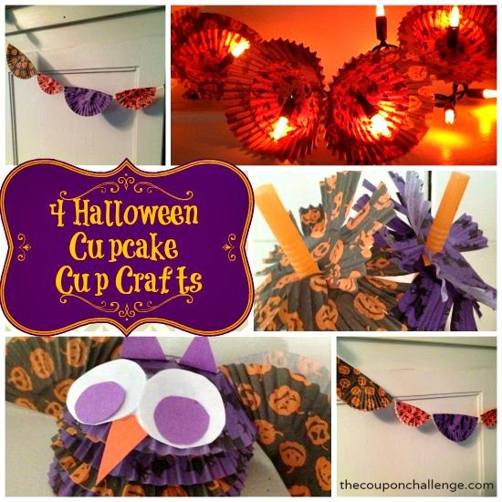 Halloween Cupcake Cup Crafts