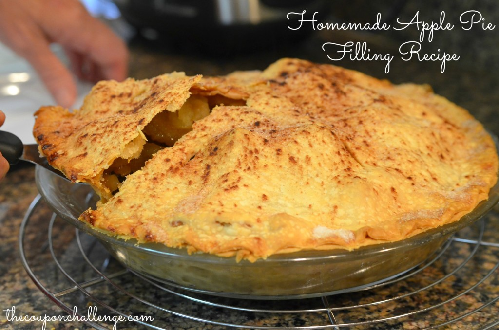 Homemade Apple Pie Filling Recip