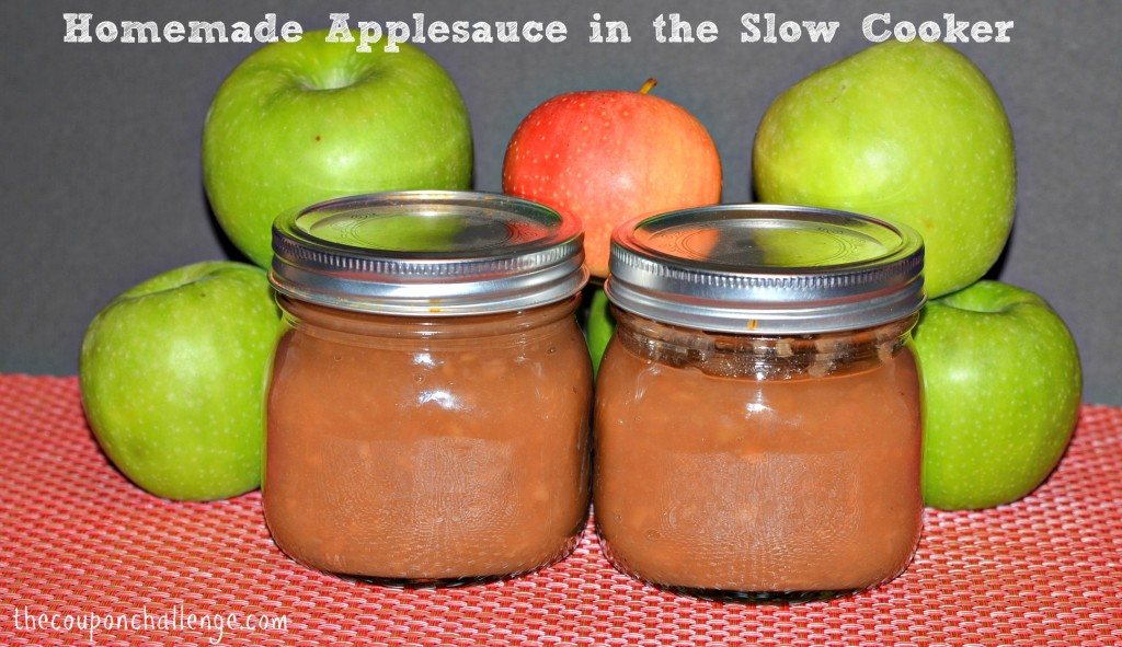 Recipe for Homemade Applesauce in the Slow Cooker
