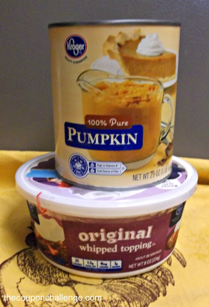 pumpkin mousse recipe ingrediants