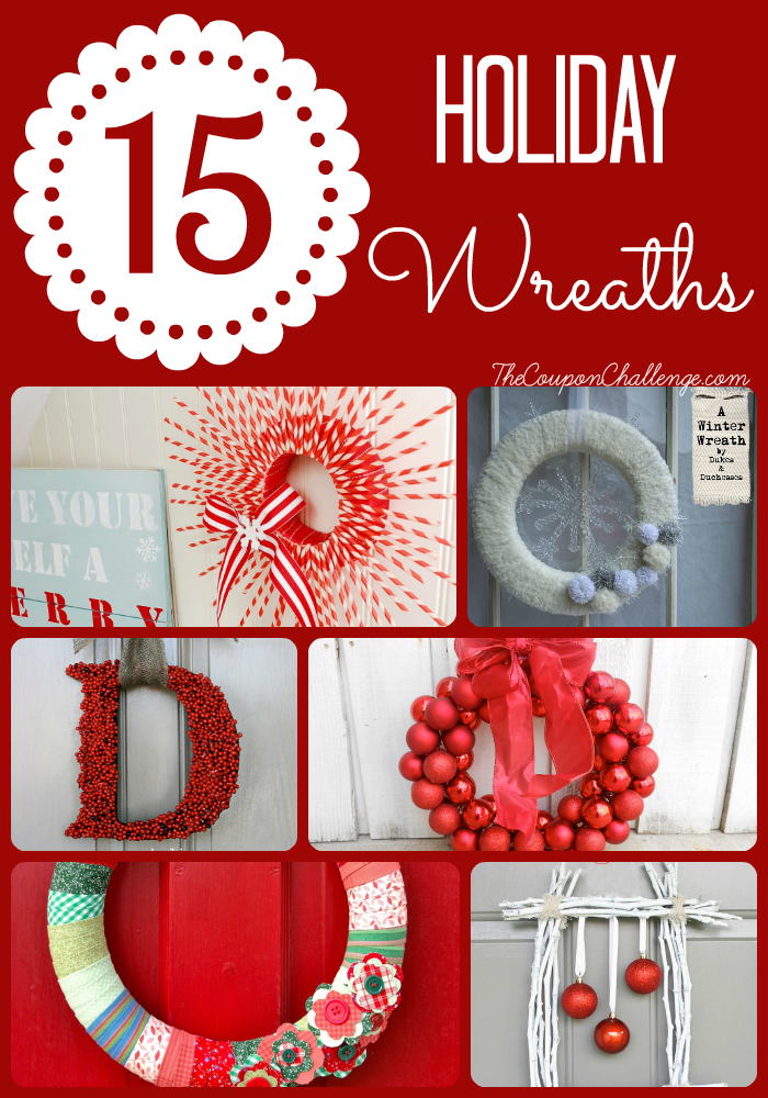 Christmas WreathsI 15 Holiday Wreaths to Decorate Your Home