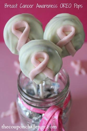Breast Cancer Awareness OREO Pops