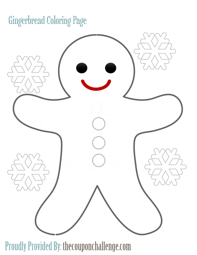 Gingerbread-Coloring-Page