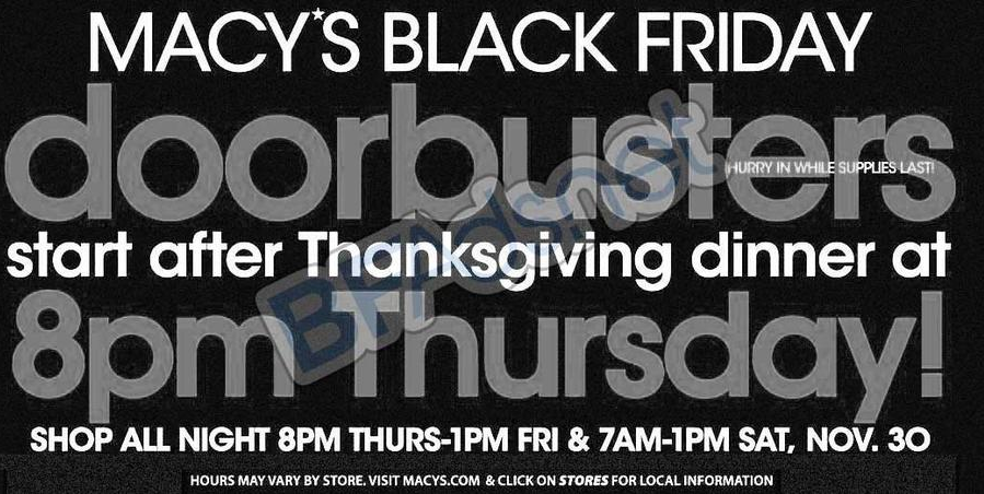 7bcc6c0ad Macys Black Friday Ad 2013 Archives - The Coupon Challenge