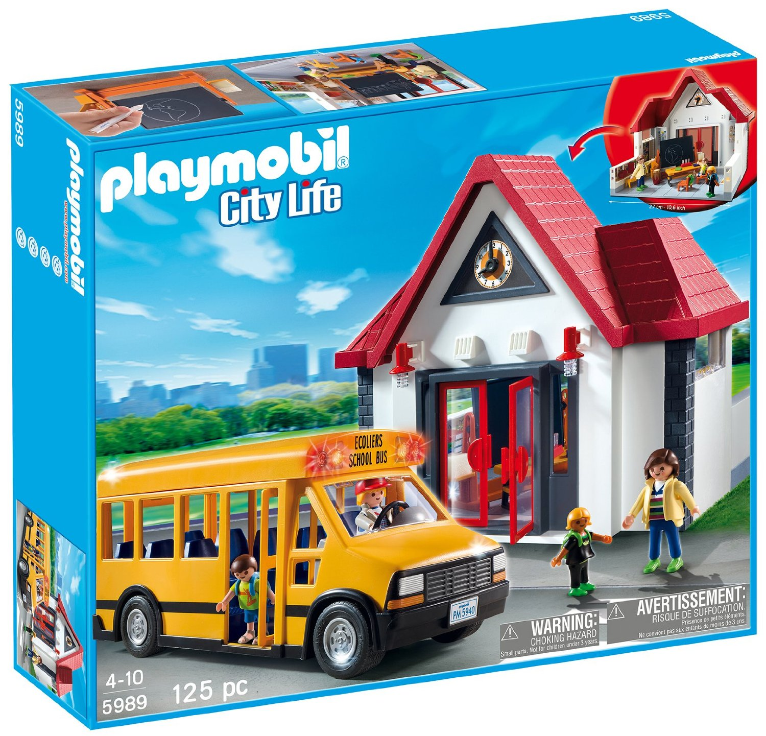 Amazon playmobil school set 50 off the coupon challenge for Playmobil post
