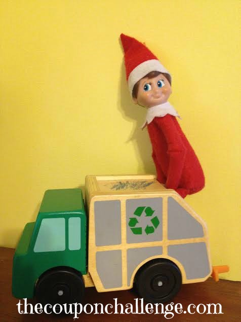 Elf on the Shelf Ideas 1