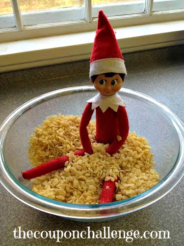 Elf on the Shelf Ideas 2