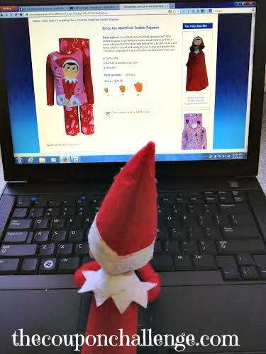 Elf on the Shelf Ideas 3