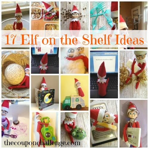 Elf on the Shelf Ideas Collage