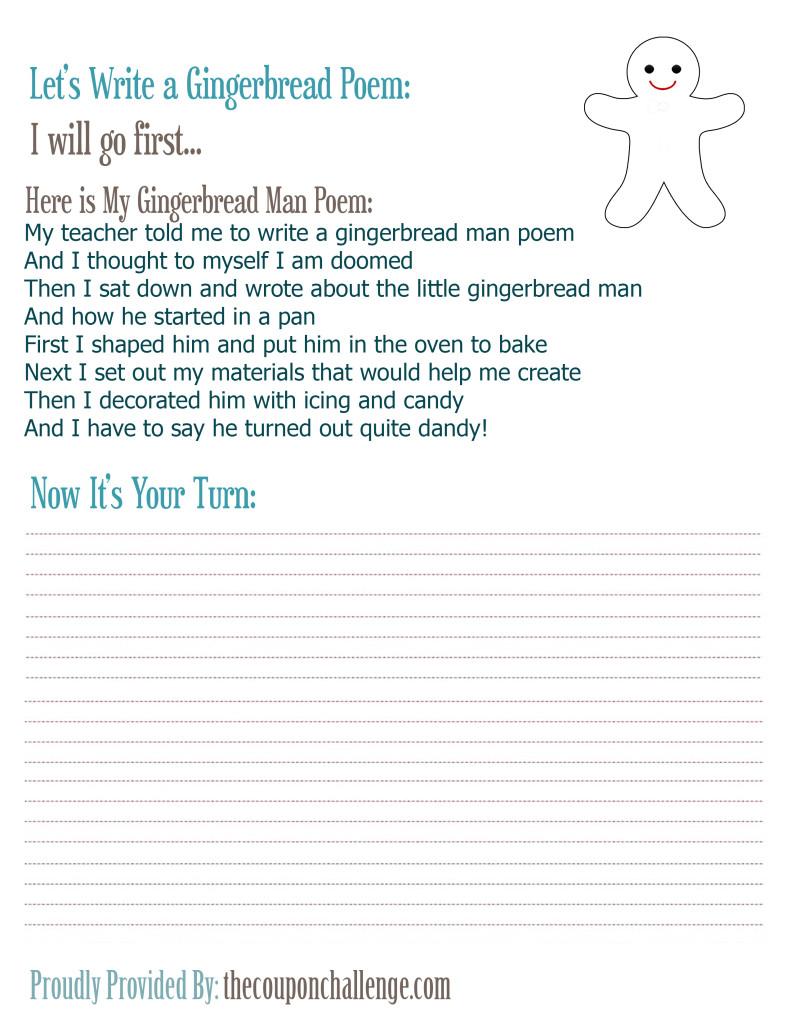 Gingerbread-Poem