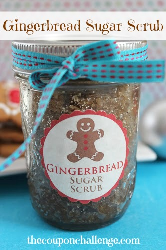 Gingerbread Sugar Scrub Recipe
