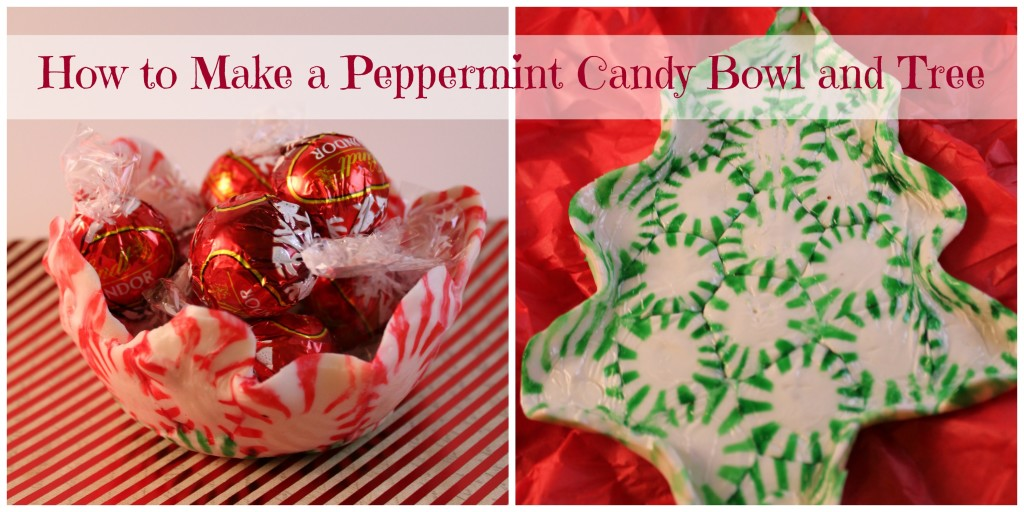 How to Make a Peppermint Candy Bowl and Tree