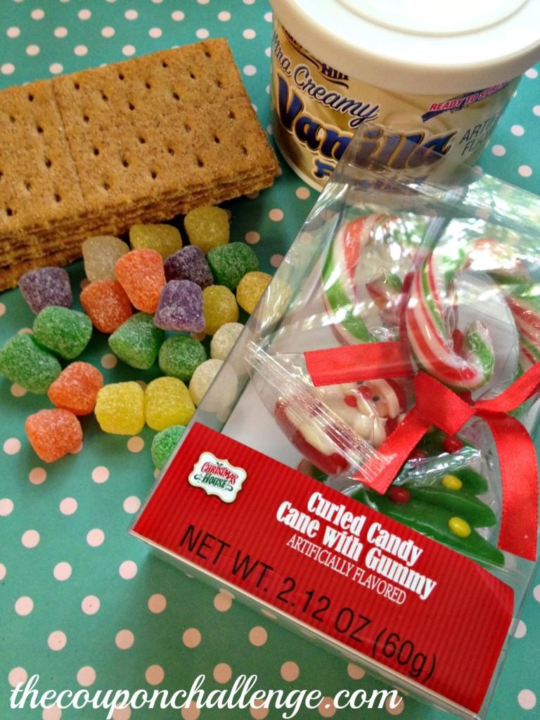 Kids Gingerbread House Ingredients