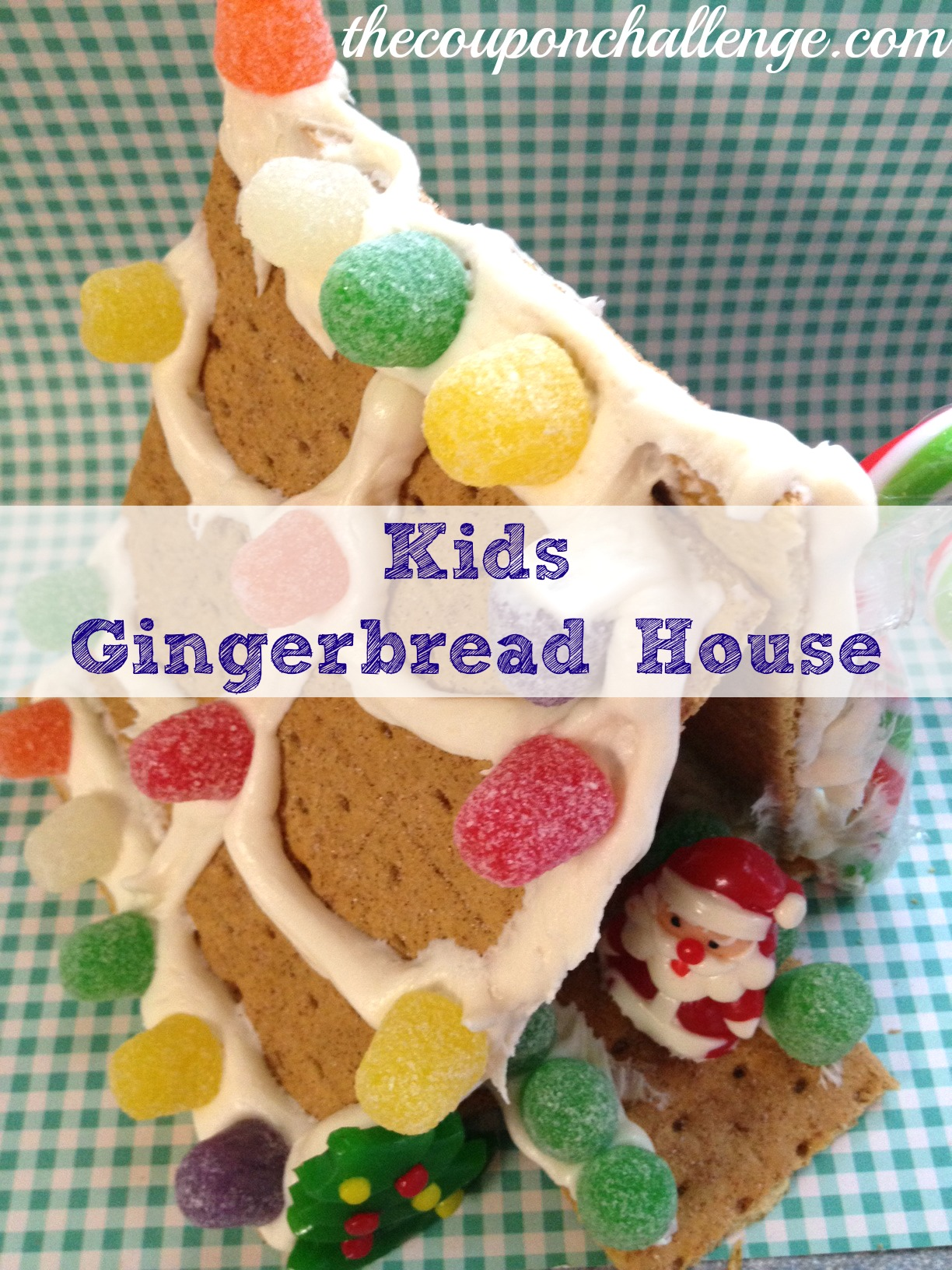 Gingerbread house archives the coupon challenge for How do you make a gingerbread house