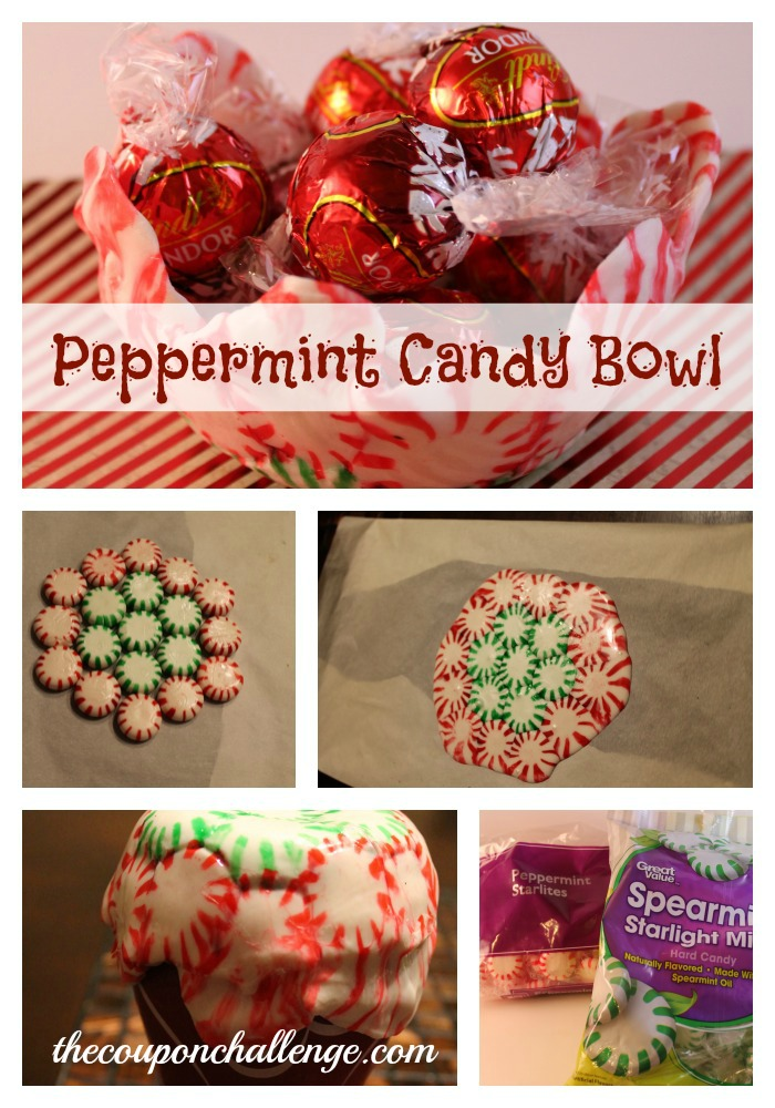 Peppermiknt Candy Bowl Collage