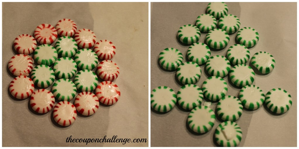 Peppermint Candy Layout