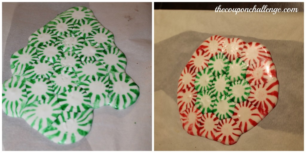 Peppermint Candy Melted