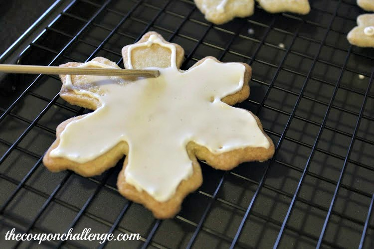 Snowflake Icing